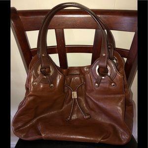 Michael Kors leather satchel purse mint condition